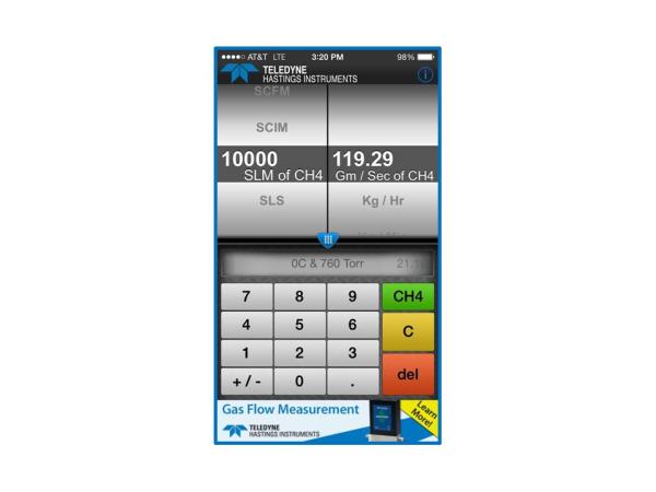 Framed mass flow converter app screen shot CH4 2 resized 600