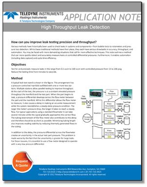 high throughput leak detection hero image