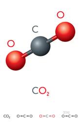 Carbon Dioxide Molecule_1041722966
