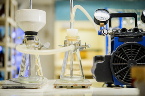 Simple Lab Set-up using Diaphragm Vacuum Pump