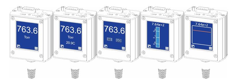 Various Digital Screens for HGV 2020A
