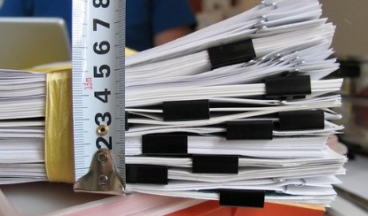 stackes of paper